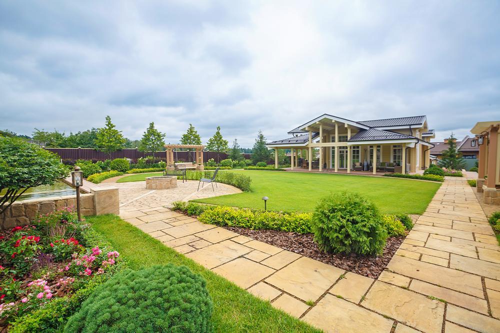Террасы с видом на идеальный сад