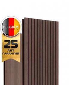 Террасная доска дпк TWINSON O-TERRACE 9555 (Бельгия) цвет орехово-коричневый